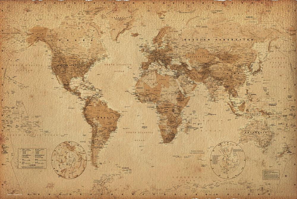 vintage world atlas related - photo #7