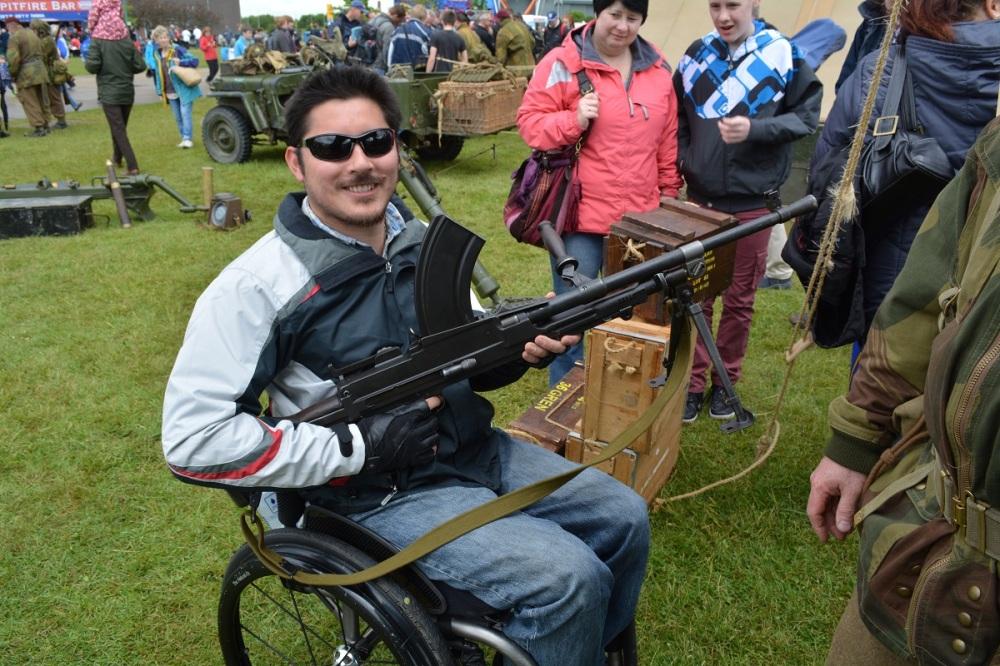 British Brent Gun, Very heavy