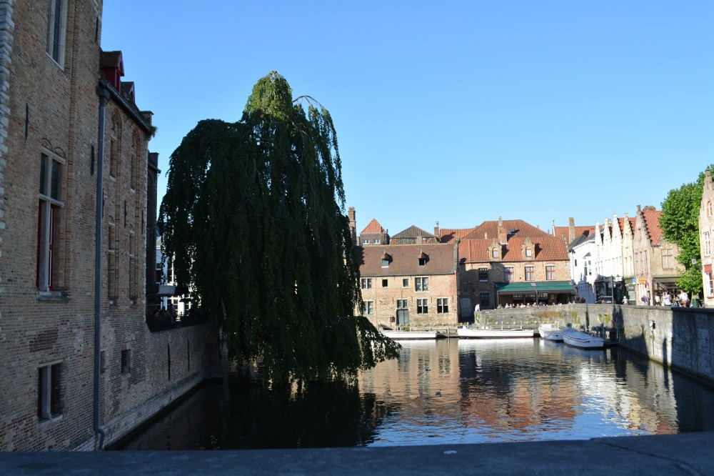 City centre view of Bruges