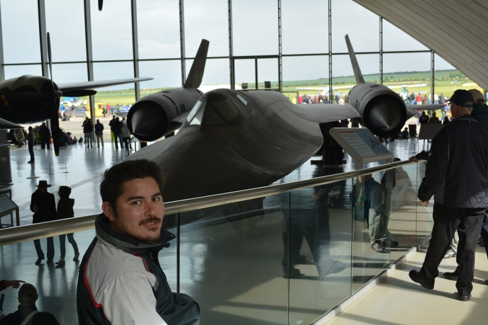 SR-71 Blackbird. Fastest jet powered plane ever made.