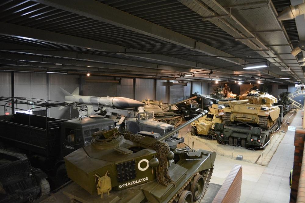 Armoured vehicle museum