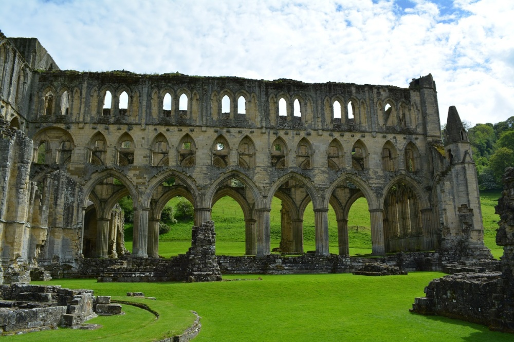 The Abbey was  Cistercian and very sucessful until King Henry 8th dissolved it and sold it to a mate in the 1500's