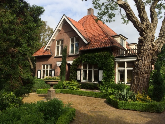The house my great grandfather built in Laren, The Netherlands