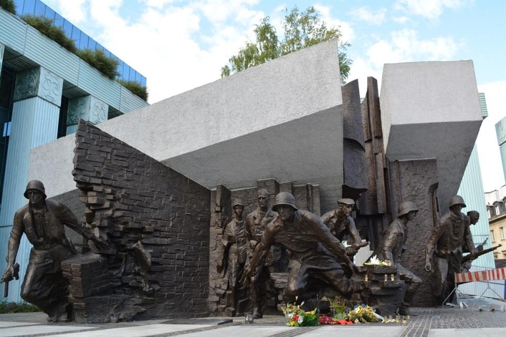 The Warsaw Uprising mounment