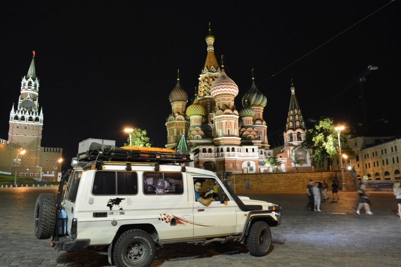 We took the Troopy for a midnight run - this is our favorite photo so far....unreal experience!
