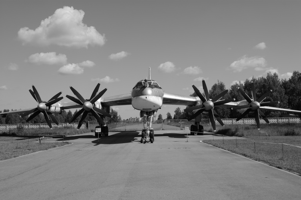 The Tupolev TU-95 long range heavy bomber. A main stay in the Russian airforce planned to remain in service to 2040, almost 90 years after the first flight in 1952