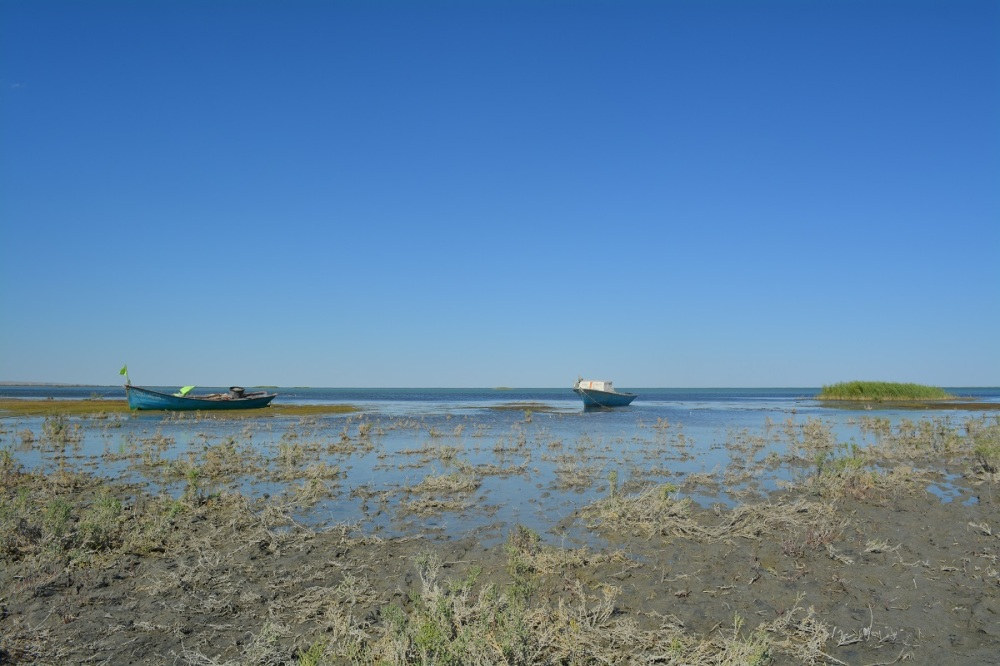 The Aral Sea - making a slow comeback. Maybe one day the locals will have their trade back