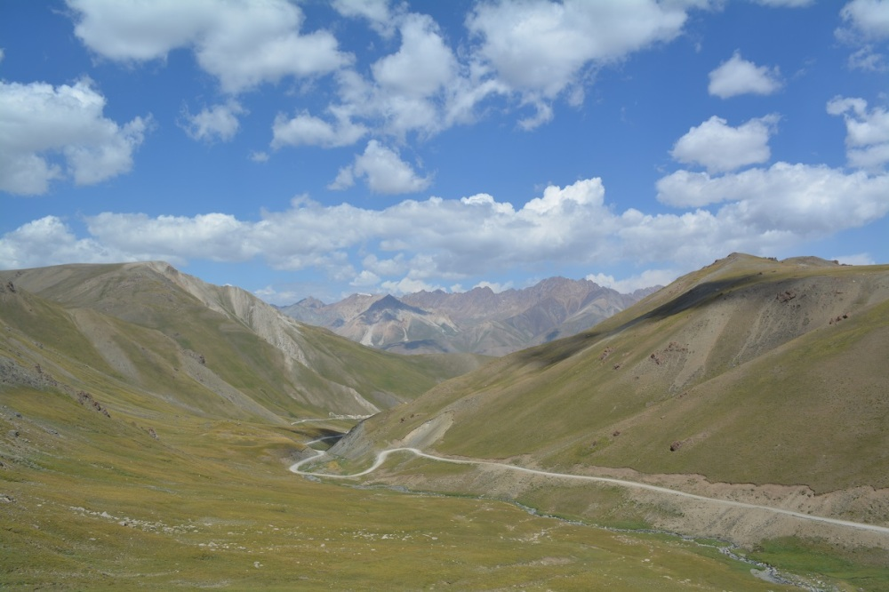 View from atop the 3500m pass