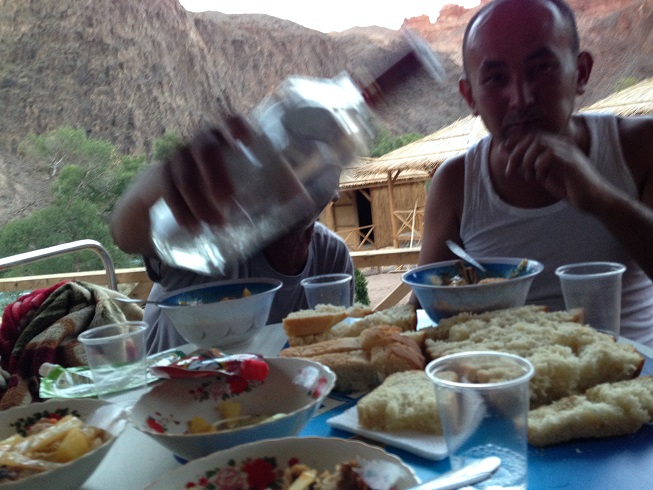 Dinner and drinks with the Kazakhs living in the Canyon
