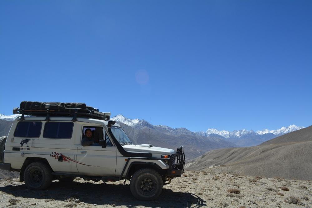 The pass before the Tajik border