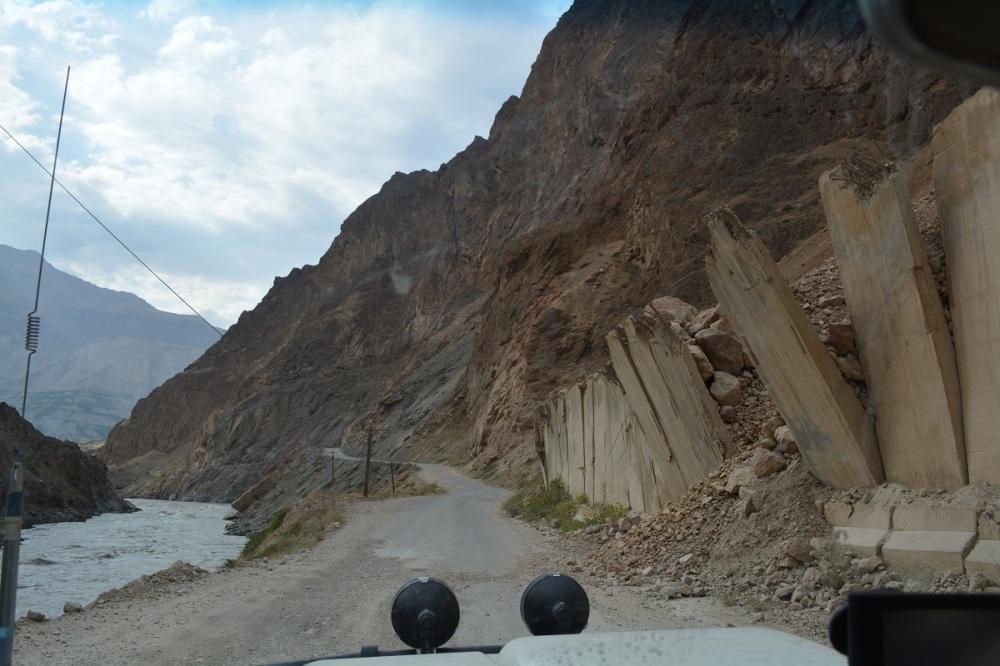 Recent landslides