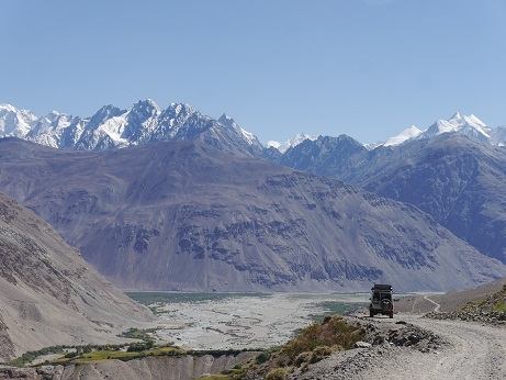 The Wakhan Corridor in sight.