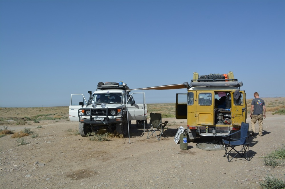 Our last Tajik camp
