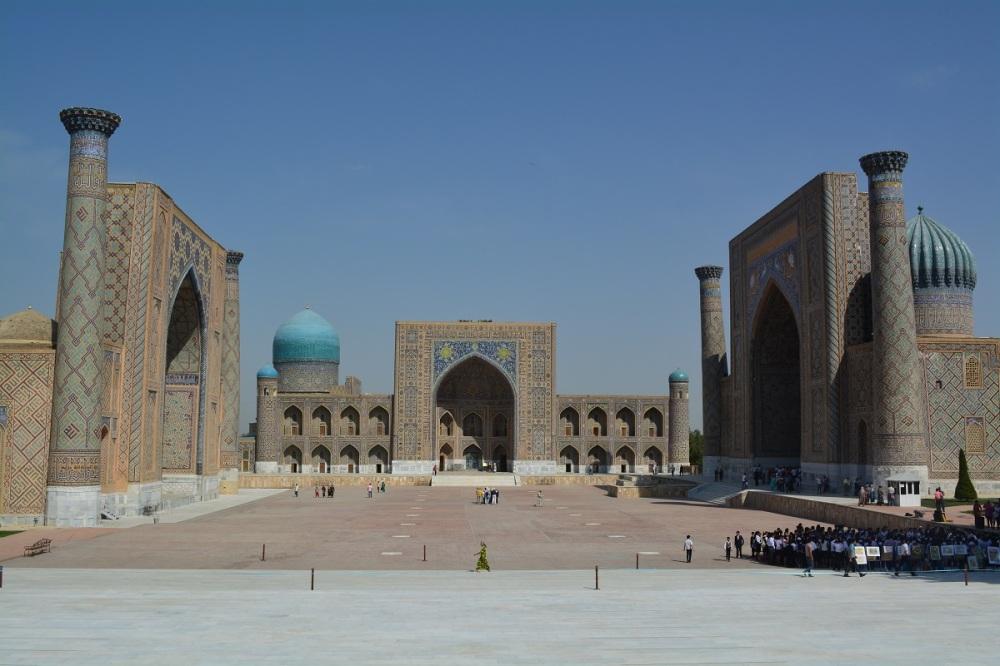 The Registan square.