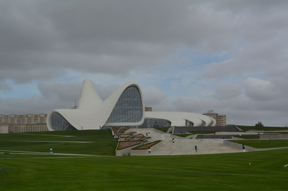 Zaha Hadid cultural center.