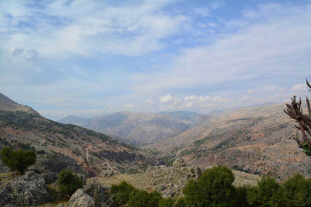 En route to Mount Nemrut