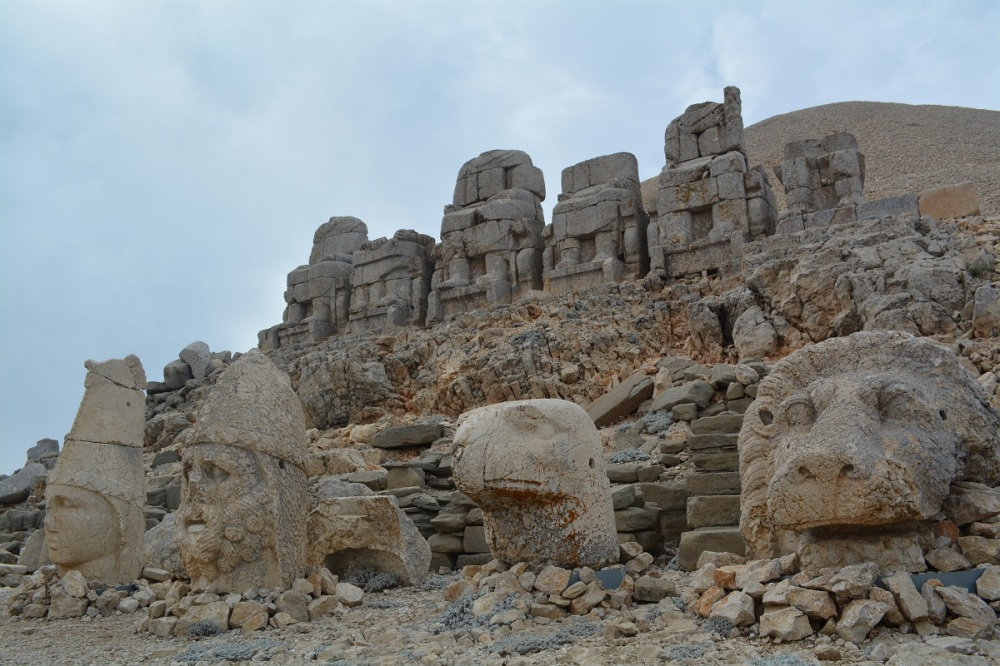 Mount Nemrut -our last Eastern Anatolian sight before heading West