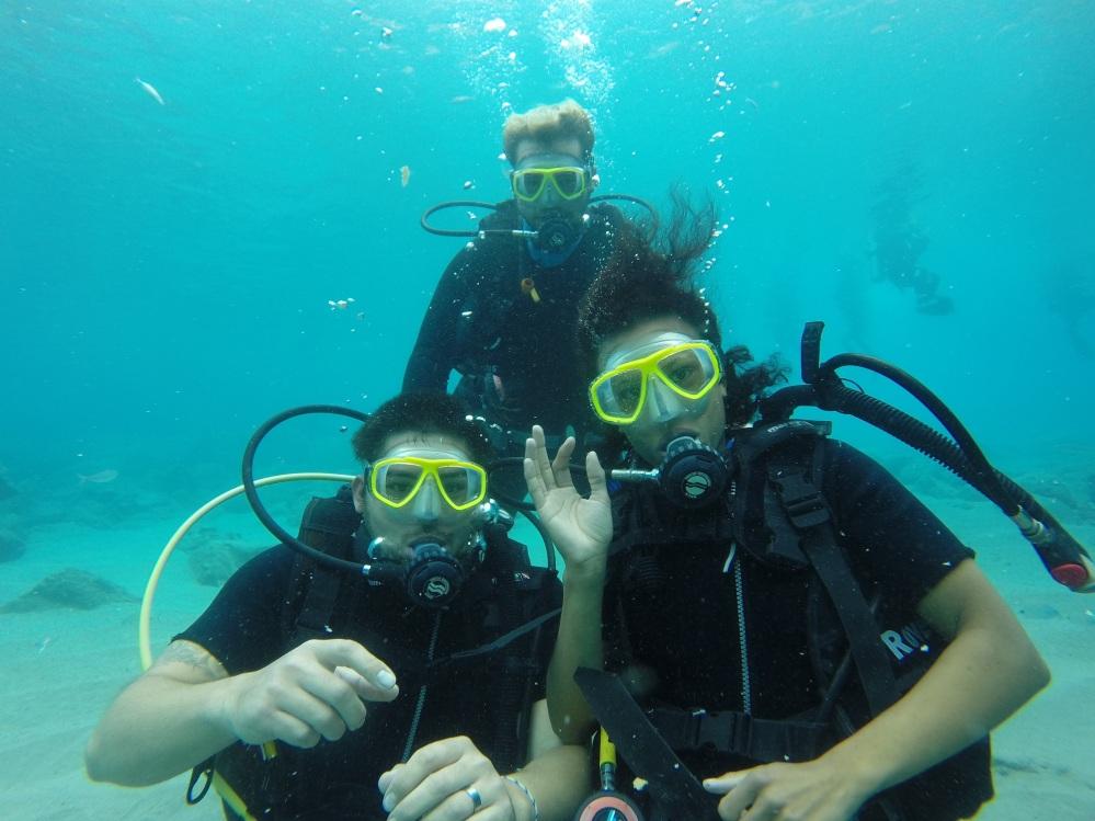Scuba diving in Fethiye