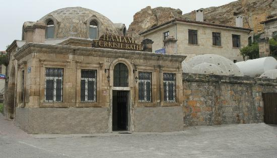 This is our first Hamam - picture courtesy of Google though as we forgot the camera