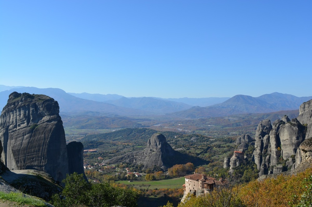 Spot the monasteries