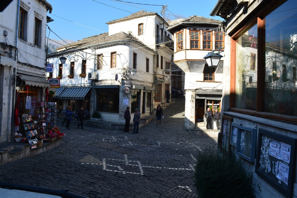 Gjirokastra Old town with its unique architecture
