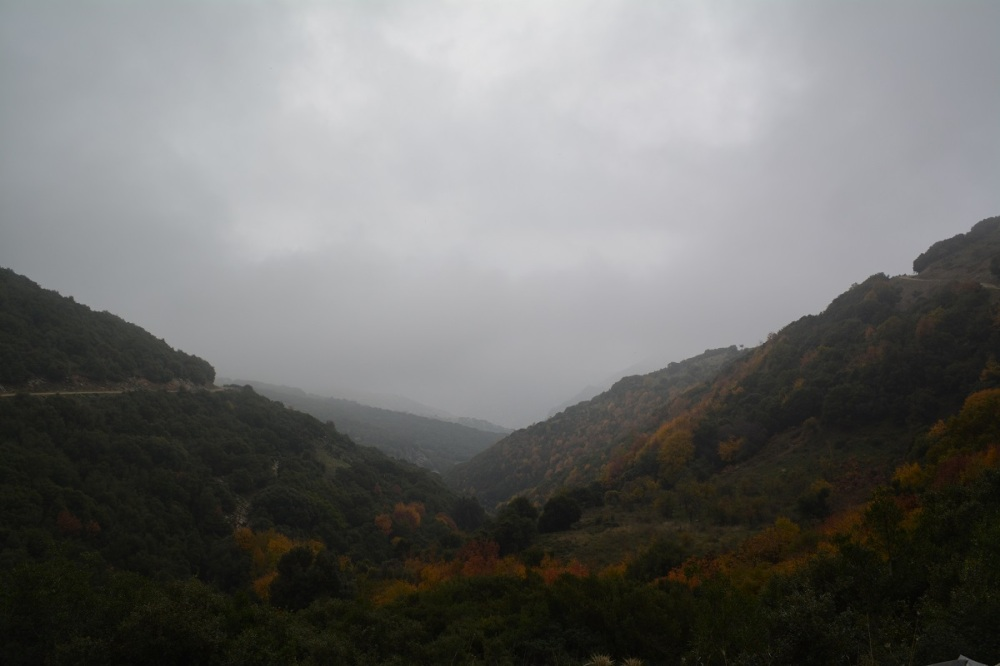 The views as we drove down the mountain
