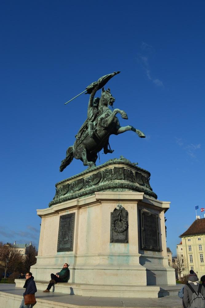 Reiterstandbild Erzherzog  Karl Horseman statue in the Volksgarten
